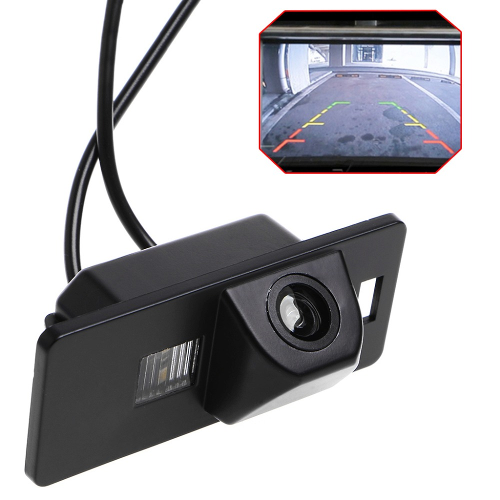 New Hot Car Rearview Reverse Parking <font><b>Camera</b></font> Waterproof Night Vision For <font><b>Audi</b></font> A1 A3 <font><b>A4</b></font> A5 A6 RS4 TT Q5 Q7 Volkswagen Passat R36 image