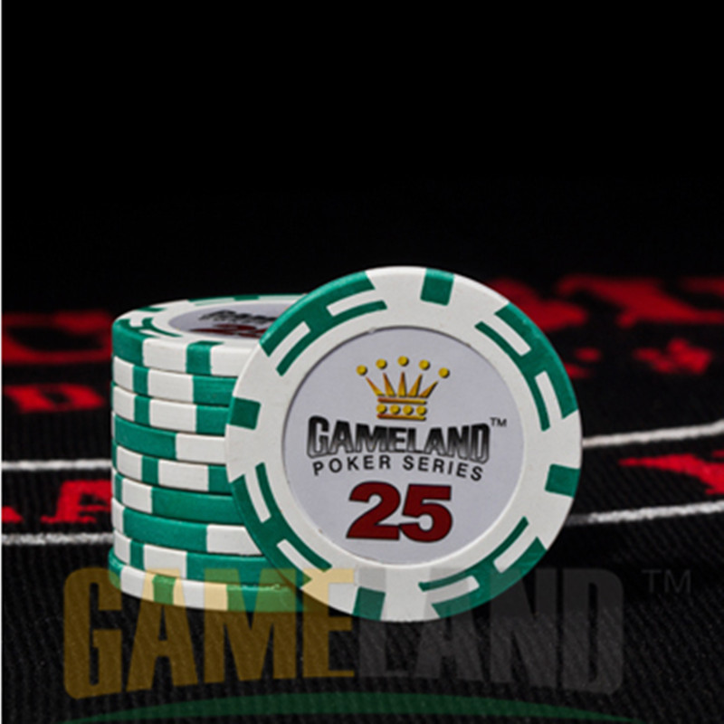 Fichas Poker chips Clay+Iron+ABS Casino chips Texas Holdem Poker Imperial crown Poker chips Professional Casino Chip Wholesale