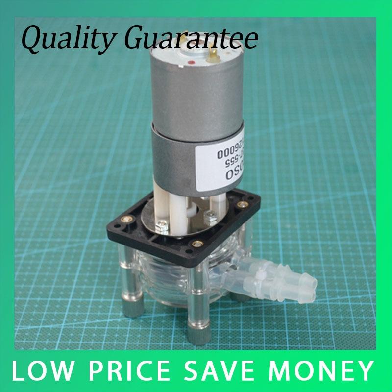 1PCS 12V Anti-corrosion Vacuum Pump Mini 0-400 - ml/min Self Suction Peristaltic Pump industrial peristaltic pump n6 3l 0 211 3600 ml min 0 1 600 rpm rs485