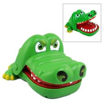 Juguetes creativos de mano de cocodrilo para niños, juegos familiares, juego clásico de morder mano de cocodrilo-17 M09