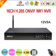5mp IP Camera Hi3536D XMeye 1CH Audio output H.265+ 5mp 16CH 16 Channel Onvif WIFI CCTV NVR Video Surveillance recorder