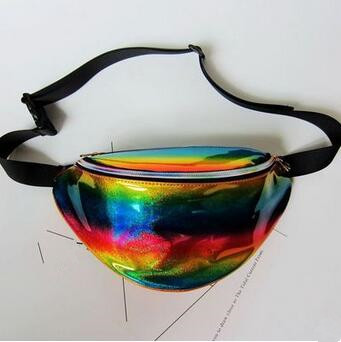 Women's Holographic Funny Waist Pack