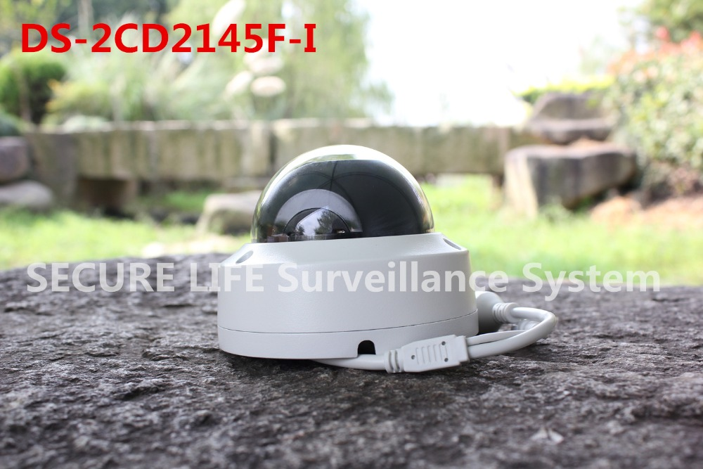 DS-2CD2145F-I H265 cctv IP network dome poe cameras no audio 4MP DS-2CD2145F-I cd диск fleetwood mac rumours 2 cd
