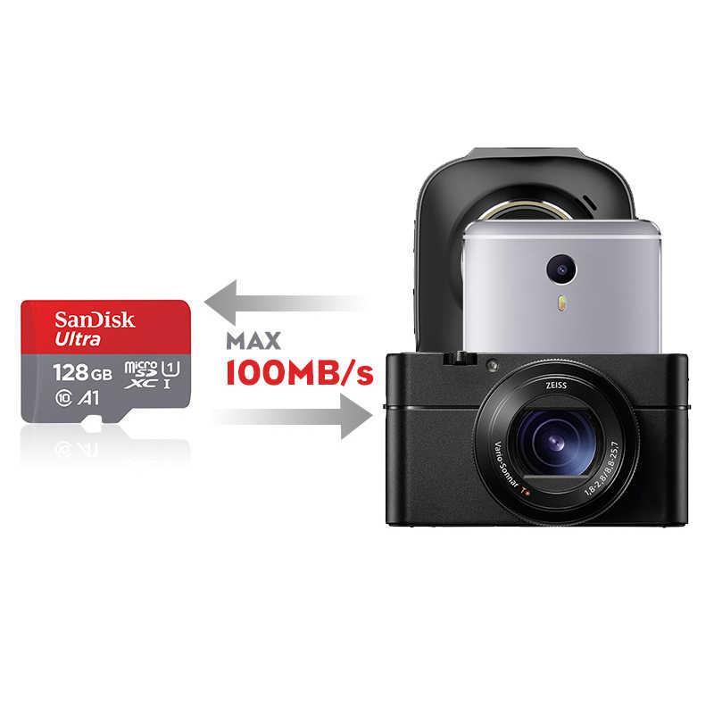 SanDisk Ultra карты памяти 200 ГБ 128 ГБ 64 ГБ 32 ГБ 16 ГБ 8 ГБ MicroSDHC/Micro SDXC UHS-I Micro SD карты 98 МБ/с. TF карты для смартфона