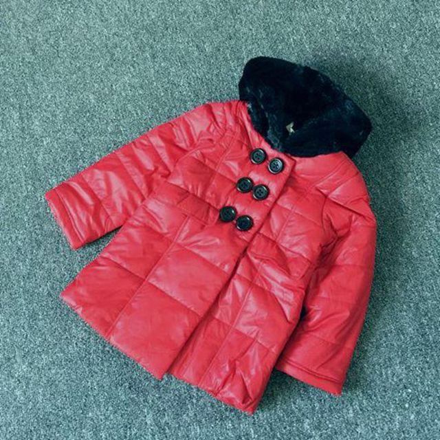 3 5 7 9 anos meninas inverno engrossar roupas de inverno de algodão acolchoado jaqueta de crianças quente à prova d' água