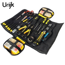 Urijk 1PC Tool Bag Multifunction ToolKit Rolled Chisel Plier Woodworking Electrician Tool Organizer Portable Large Capacity Bags