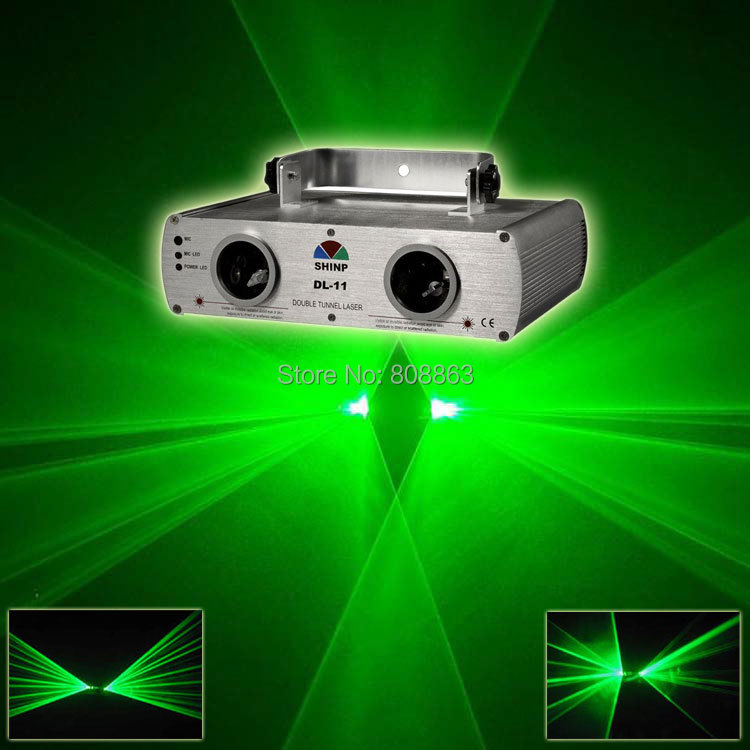 New Double Green Laser projector Party Bar Club lighting light show DJ Disco Dance KTV Professional Stage Light system S12