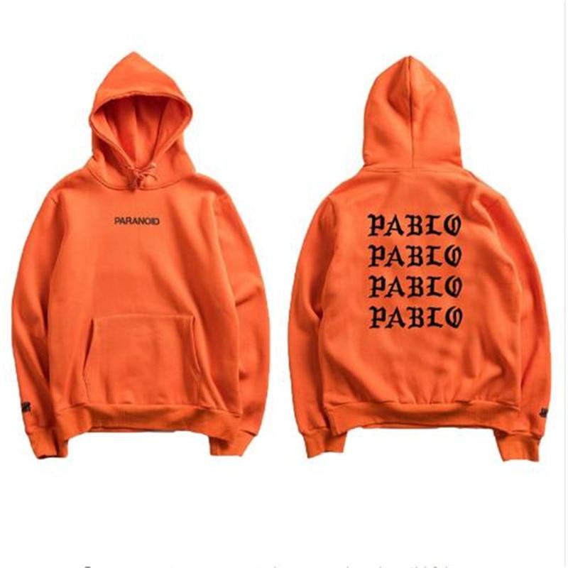 2019 Fashion Assc Club Brand Hoodie Sweatshirt Men And Women Paranoid Letter Print Hoodie Men Kanye West Pablo Anti-social Hoodi