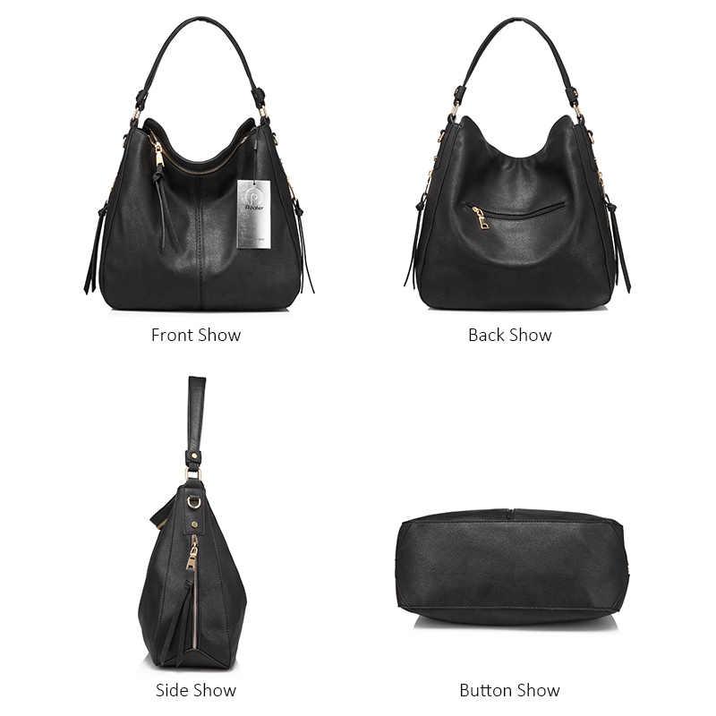 0ba27ee6aa02 ... REALER сумка с короткими ручками, бренд модная большая большая сумка  женская через плечо, дамская ...