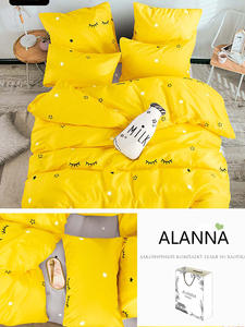 Alanna Solid-Bedding-Sets Flower Star-Tree High-Quality 4-7pcs Printed Home with Lovely-Pattern