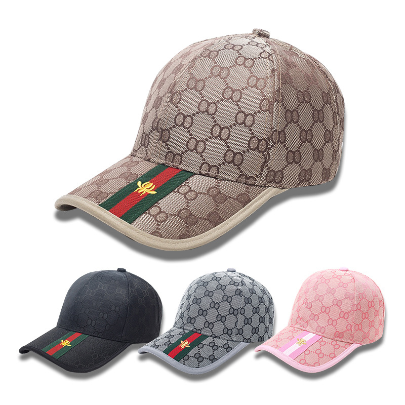 Men Designer Brand   Baseball     Caps   Embroidery Design Khaki Women Sunshade   Caps   Spring Autumn Fashion Leisure Hats with Monogram