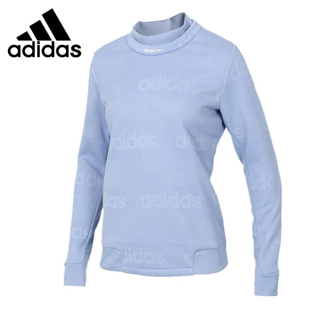 Original New Arrival 2018 Adidas NEO Label CS SWEATSHIRT Women's Pullover Jerseys Sportswear in Trainning & Exercise Sweaters from Sports &