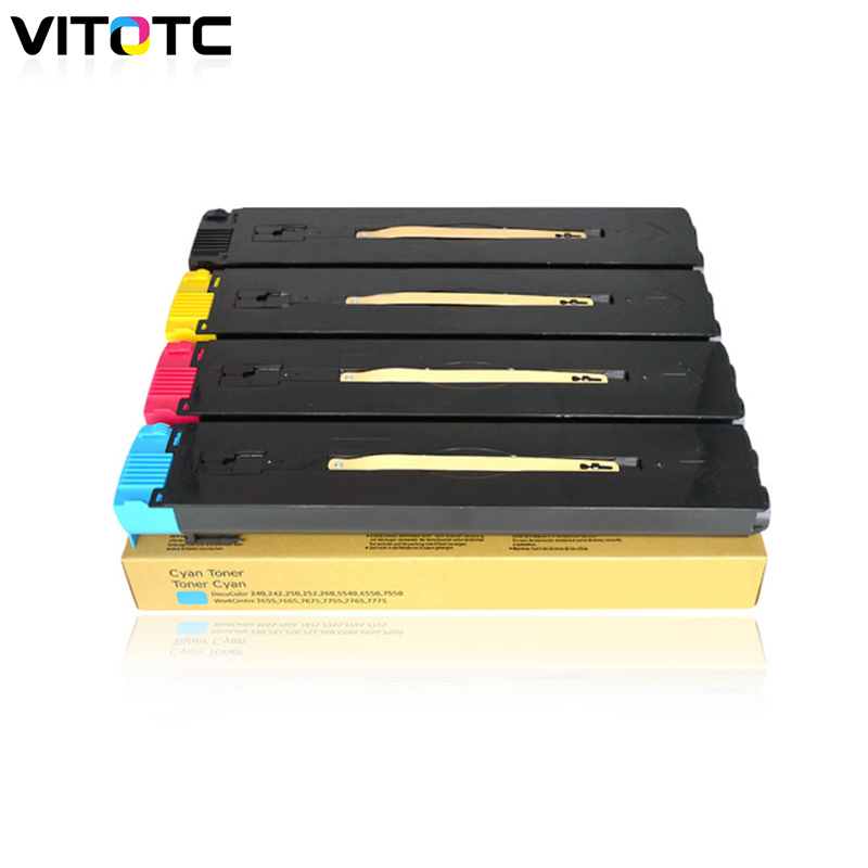 DC240 250 Toner Cartridge Compatible For Xerox DocuColor 240 242 250 252 260 WorkCenter 7655 7665 7755 7765 7775 Color Printer