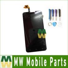1 PC/Lot Para Highscreen Alfa R Pantalla LCD Con Pantalla Táctil Asamblea con herramientas Negro Color