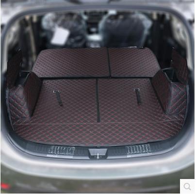 Good mats! Special trunk mats for KIA Sorento 2014-2012 7 seats durable cargo liner boot carpets for Sorento 2013! Free shipping
