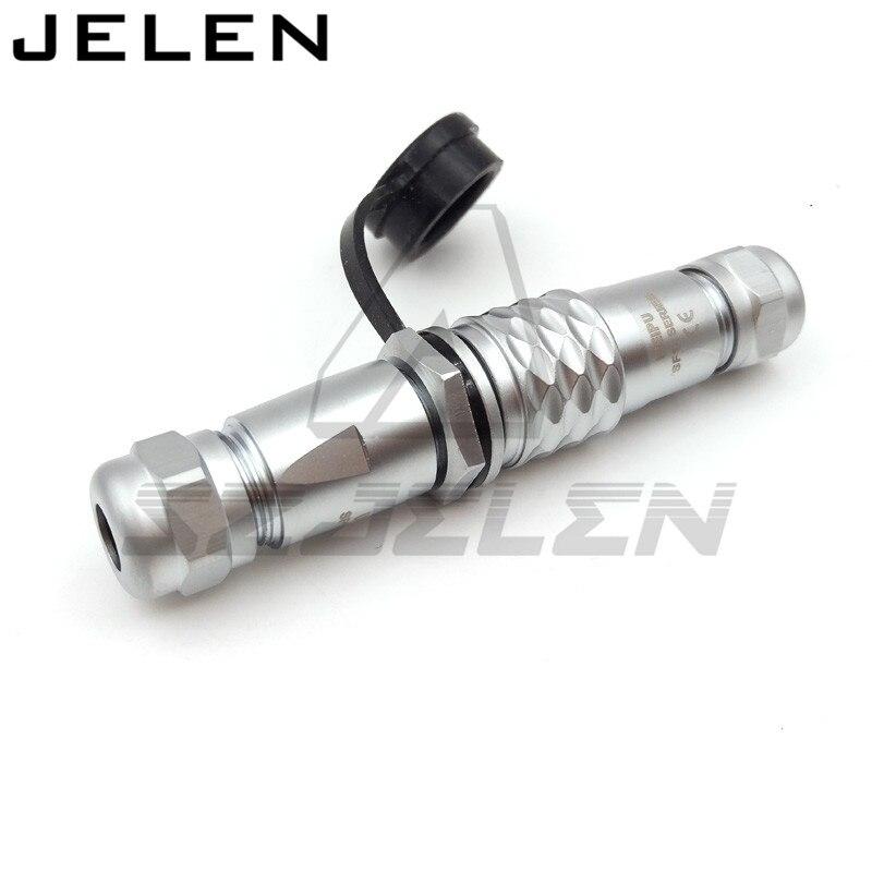 WEIPU SF12 series 5 pin waterproof connectormetal, waterproof sensor connector M12 plug and Flange socket male&female