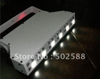 wholesale free shipping 24*1w rgbw 4color wireless dmx led wall washer battery powered led uplighting for wedding 6pcs/fly case