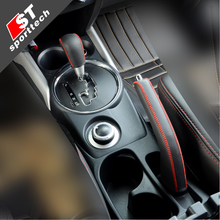 For Mitsubishi ASX handbrake gear sets real leather jacket automatic Sew-on modified leather cover
