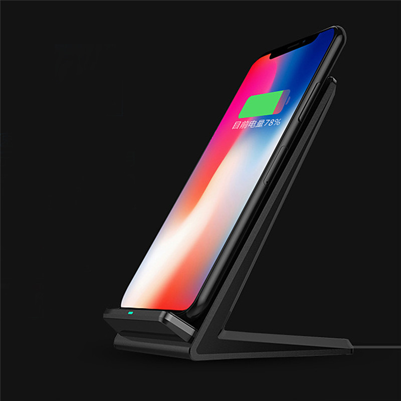 Conscientious 5v2a Smart Qi Fast Wireless Charger For Samsung Galaxy Note 8 S8 S7 S6 S6 Edge Good For Energy And The Spleen