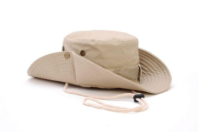 100pcs/pack Classic US Army Gi Style Boonie Jungle Hat Ripstop Cotton Combat Bush Sun Cap - 2