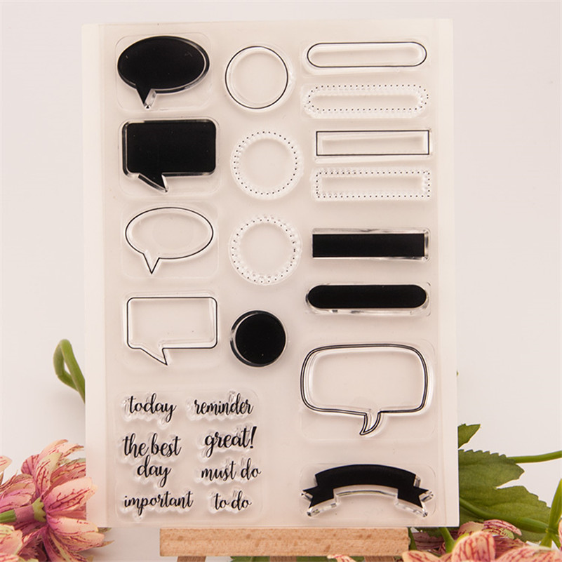 New arrival scrapbooking DIY Transparent Clear paper card background Rubber Stamp Seal Paper Craft Scrapbooking Decor CC-043 new arrival scrapbooking diy transparent clear flowers trees branch rubber stamp seal paper craft scrapbooking cl 213
