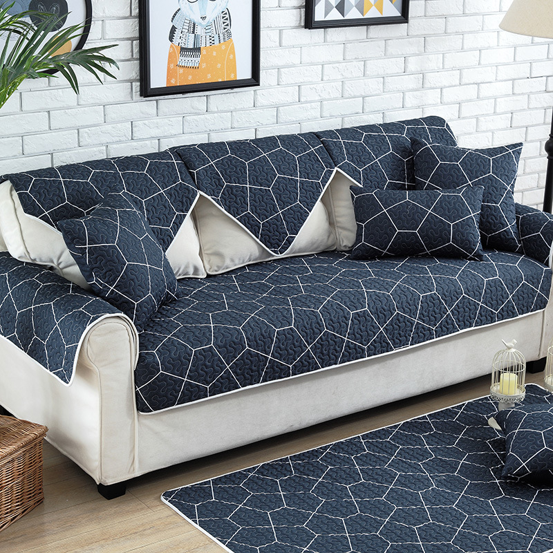 1pcs Cotton Sofa Cover Towel Sectional Slip Sofas Modern Magical Corner Fabric Double 90 90cm In From Home