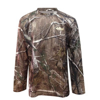 Spring Men S Bionic Camouflage Quick Dry T Shirt Tops Male Outdoor Sports Hunting Jungle Long