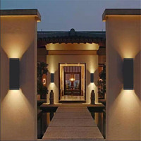 LED Outdoor Wall Lamps IP65 Waterproof Indoor LED Stair Light AC85 AC265V Corridor Lighting bedside Wall Lamp AT 114