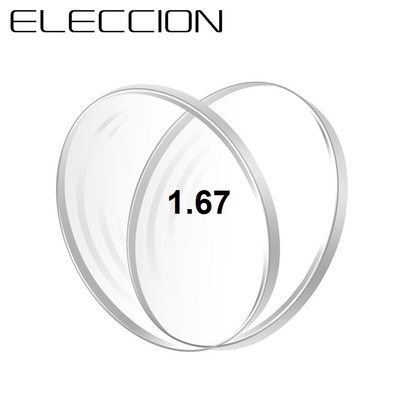 ELECCION 1.56 1.61 1.67 1.74 ( Sph: +8.00~-12.00 ) Aspheric Glasses Lenses Myopia Hyperopia Presbyopia Optical Prescription Lens