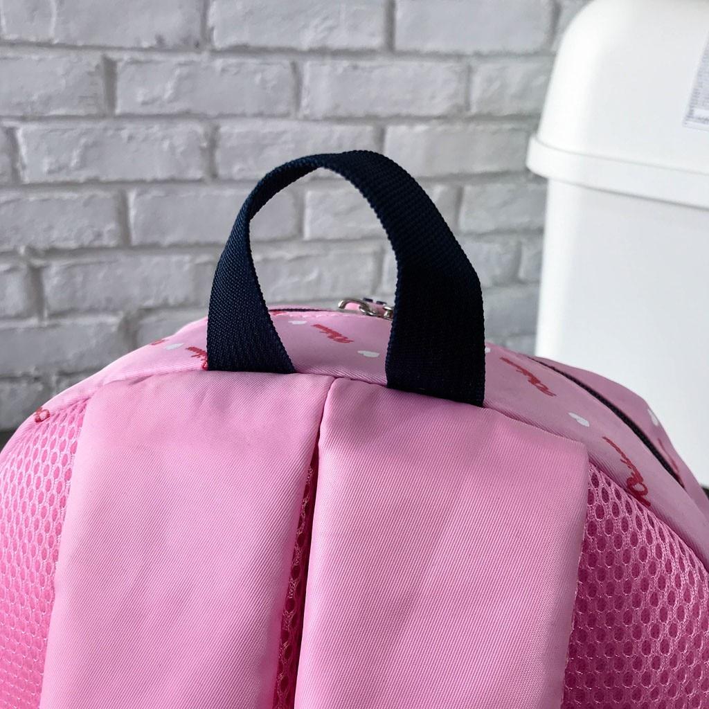 Women Bow Canvas Three-piece School Bag 38