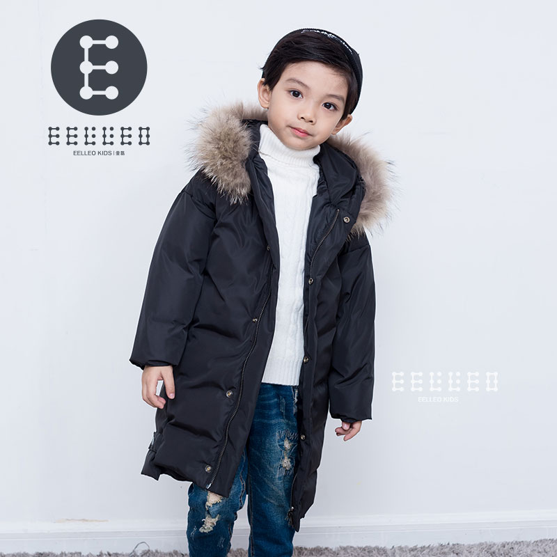 Children's Winter Jackets For Boys Fashion Boy Thicken Children Down Coats Outerwear Warm Tops Clothes Big Kids Clothing new 2017 russia winter boys clothing warm jacket for kids thick coats high quality overalls for boy down
