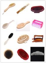 Spa Massage Brush Body Shampoo Scalp Massage Hair Washing Comb Brush Head Meridian Massage Comb green sandalwood combed wooden head neck mammary gland meridian lymphatic massage comb wide teeth comb