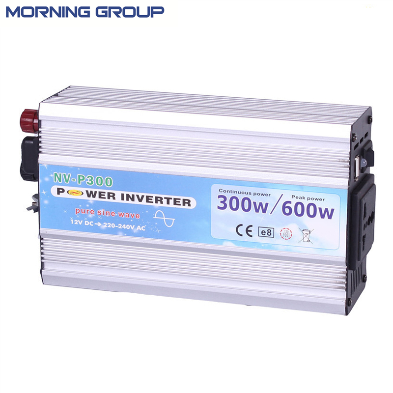 цена на 300W Solar Power Inverter Pure Sine Wave Off Grid Invertor with 5V USB Socket 12V 24V DC To AC 110V 220 Volt