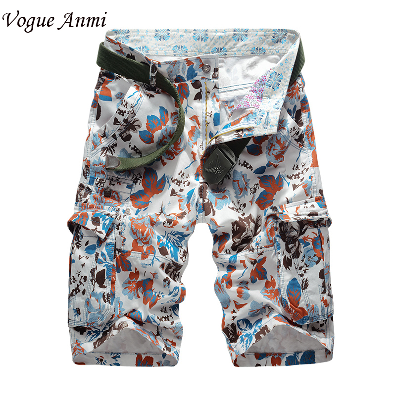 Vogue Anmi.Hot 30-40 Selling New Brand Men Camouflaged Shorts Loose Cargo Camo Military Shorts Mens Short Pants,1560#
