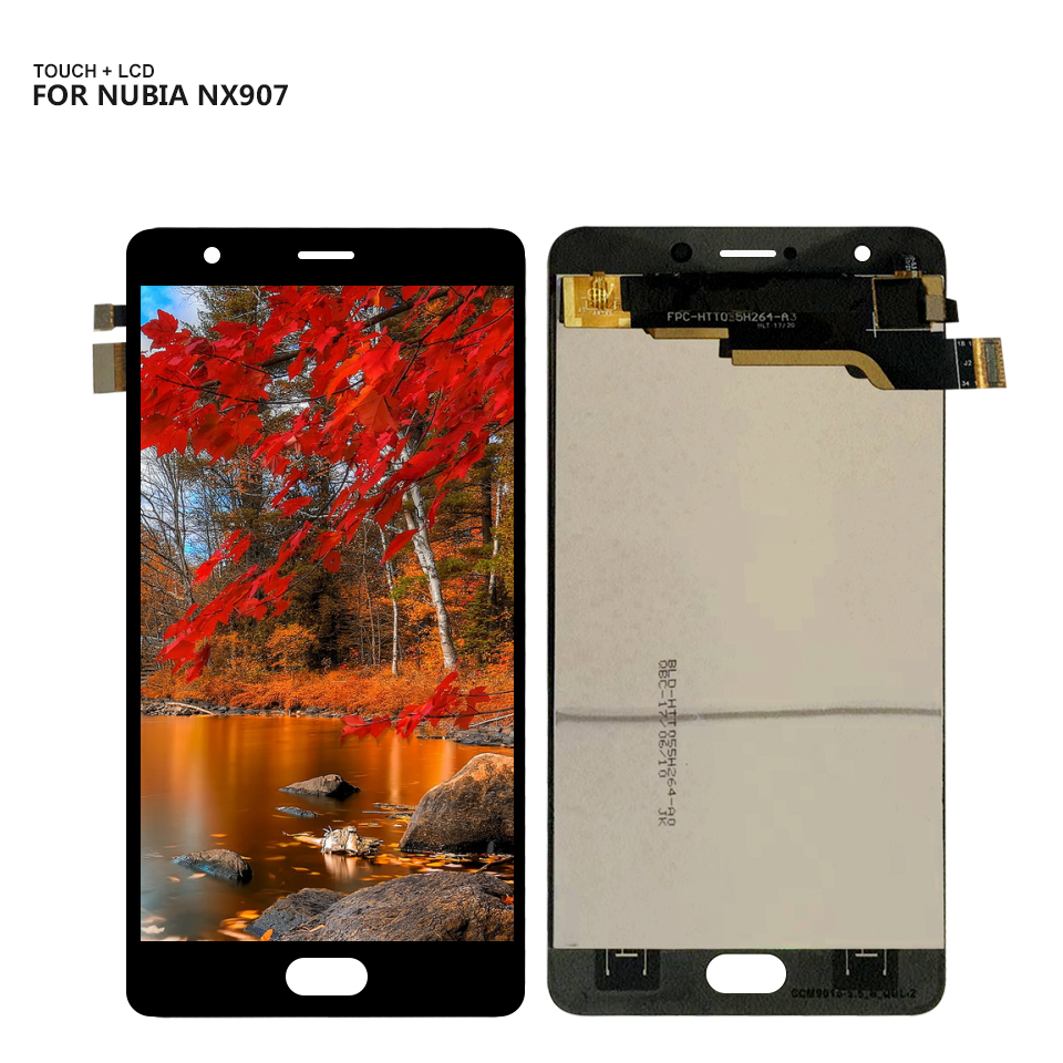 AMOLED For ZTE Nubia M2 Play NX907 NX907J LCD Display Digitizer Screen Touch Panel Glass Sensor Assembly + Tools(China)