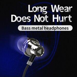 Image 4 - العلامة التجارية الأصلية سماعات QKZ KD3 سماعة عزل الضوضاء في سماعة الأذن سماعة رأس مزودة بميكروفون للهاتف المحمول العالمي ل MP4