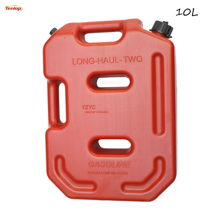 ФОТО Hot Sale Practical Long-Haul 10L Gasoline Diesel Fuel Tank Can Pack For Offroad SUV ATV Motorcycle Tricycle