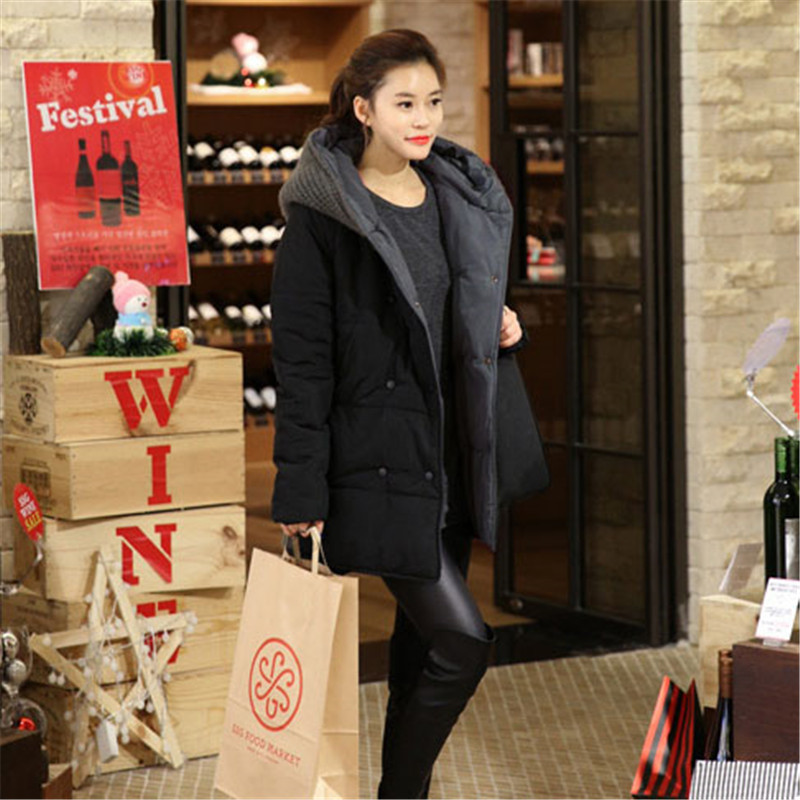 Winter High Quality Hooded Cotton Padded   Parka   Plus Large Size Jacket Women Medium-long Thickening Warm Winter Jacket TT3152