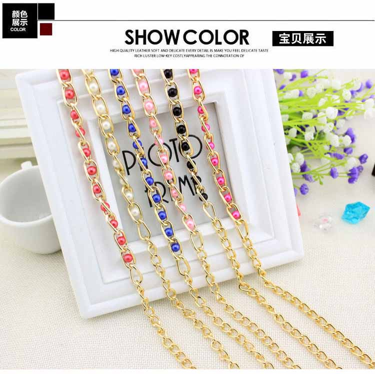 The New Woman With Dress Adornment Small Waist Waist Korean Lovely Pearl Beads Chain