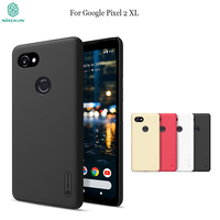 Case For Google Pixel 2 Xl NILLKIN Frosted PC Plastic Back Cover With Screen Protector For