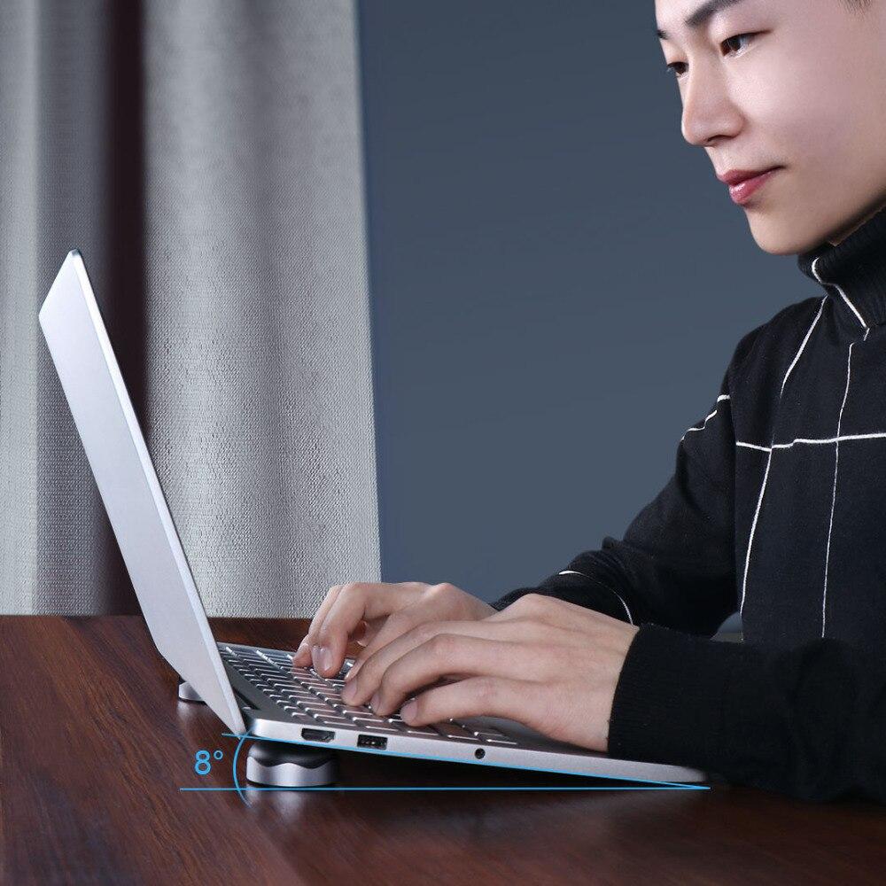 Xiaomi Laptop Cooling Stand Dock Mini Laptop Pad Stand Notebook Halter Kühlung matte Magnet adsorption Silikon slip