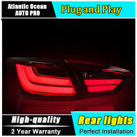 JGRT Car Styling For Ford Focus Sedan Taillights 2012 2014 New Focus LED Tail Lamp Rear