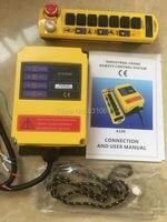 1pcs 1Speed Control Hoist Crane Remote Control System 12V Free Shipping