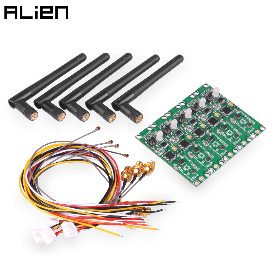 ALIEN 5 PCS 2.4G DMX 512 Wireless Controller PCB Module 2 In 1 Transmitter Receiver For DMX Stage Light Built-in Wireless DIY