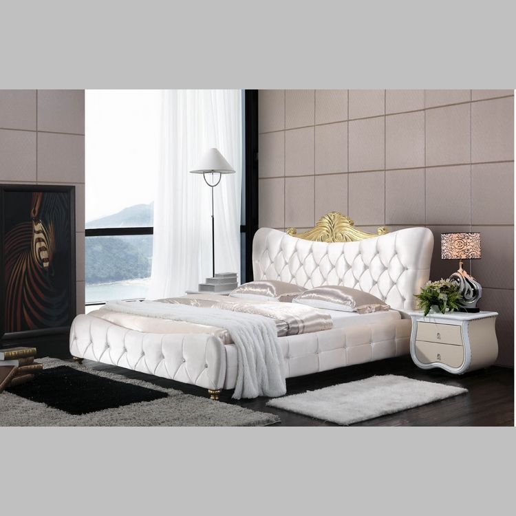 High Quality Fabric Bed Soft Bed Modern Bed Bedroom