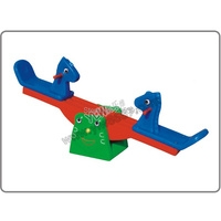 plastic seesaw playground park,garden seesaw for amusement park,park seesaw
