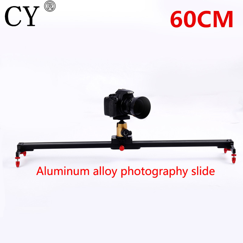 24 60cm Camera Track Dolly Slider Rail System Stabilizing Movie Film Video for DSLR DV Cameras Camcorder Photography new professional 60cm 24 bearing video track slider dolly stabilizer system for dslr camera camcorder better than sliding pad