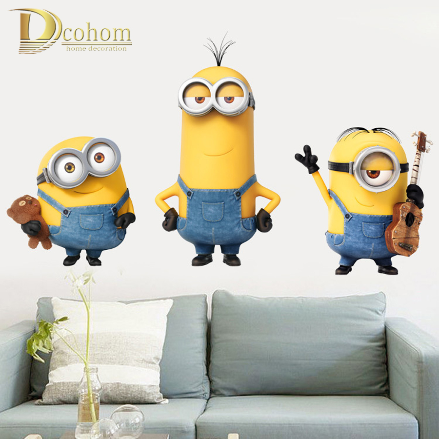 Minion Bedroom Wallpaper Compare Prices On Minion Wallpaper Online Shopping Buy Low Price