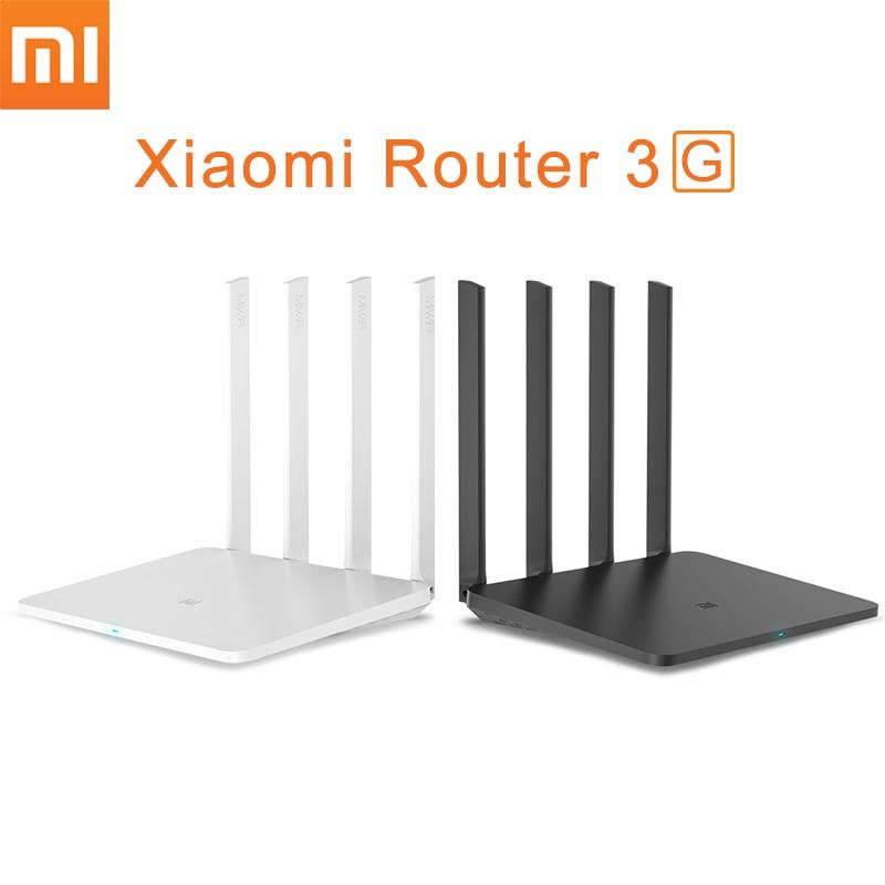 Original Xiao mi router wifi repetidor 3G con 256 MB memoria 128 MB Flash grande doble banda 2.4 g/5g USB 3.0 roteador App control