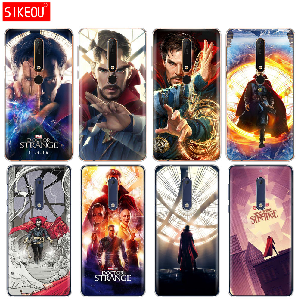 Have An Inquiring Mind Silicone Cover Phone Case For Nokia 5 3 6 7 Plus 8 9 /nokia 6.1 6 2018 Marvel Doctor Strange An Indispensable Sovereign Remedy For Home Fitted Cases Phone Bags & Cases
